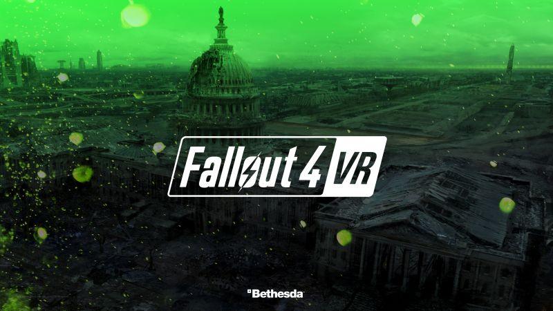 Fallout 4 VR 4k E3 2017 Horizontal