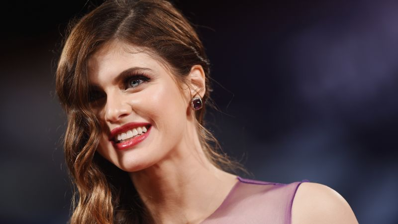 Alexandra Daddario, 4k, photo (horizontal)