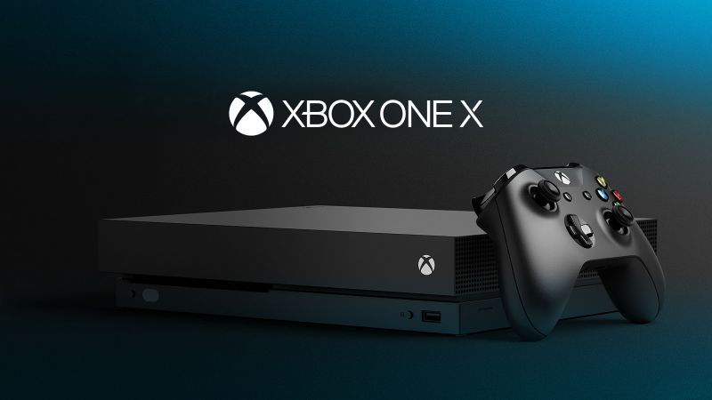 Xbox One X, E3 2017, photo (horizontal)