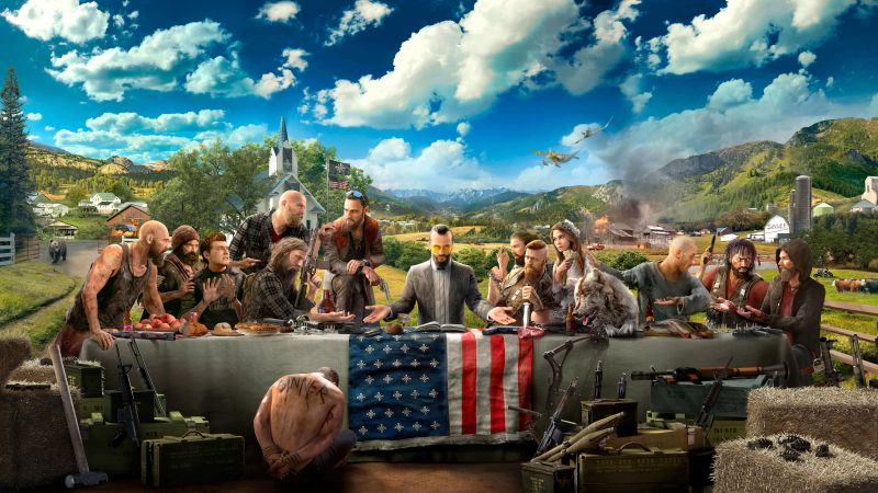 Far Cry 5, 4k, HD, E3 2017 (horizontal)