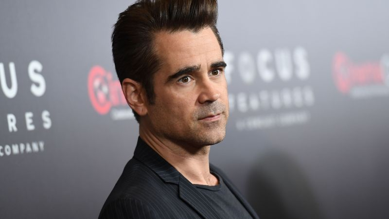 Colin Farrell, 4k, photo (horizontal)