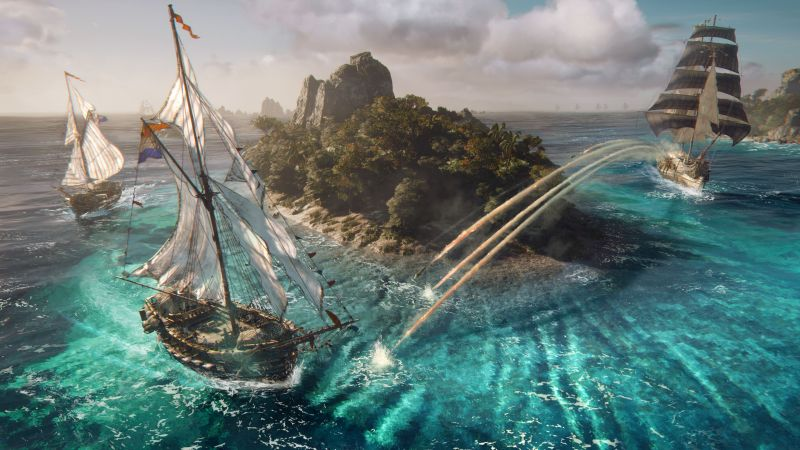 Skull and Bones, 4k, HD, E3 2017 (horizontal)