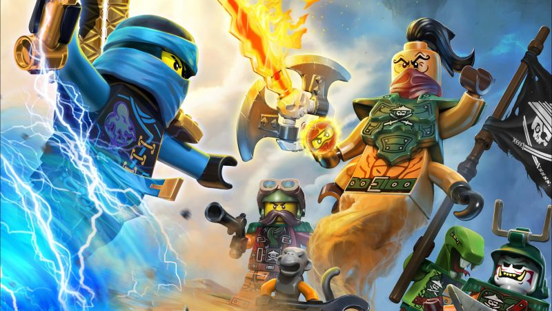 The LEGO Ninjago Movie, 5k, best animation movies (horizontal)