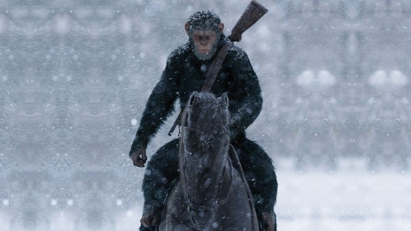 War for the Planet of the Apes, 5k (horizontal)