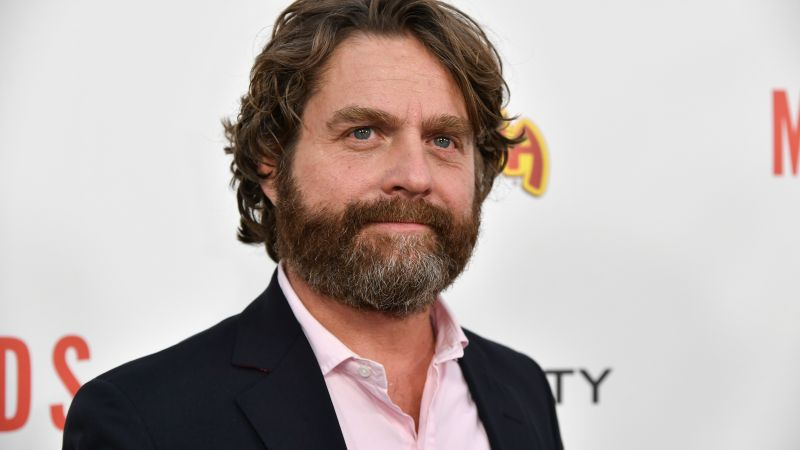 Zach Galifianakis, 4k, photo (horizontal)