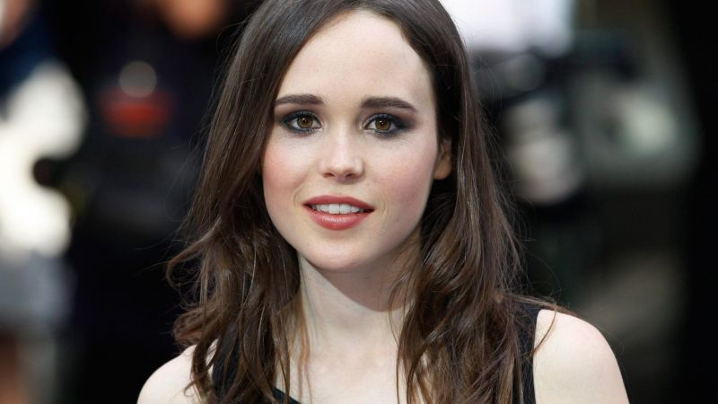 Ellen Page, 4k, photo (horizontal)