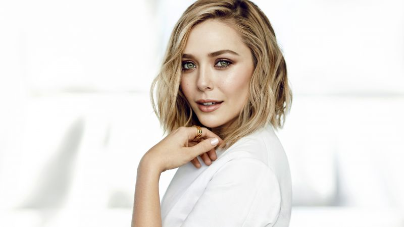 Elizabeth Olsen, 4k, photo (horizontal)