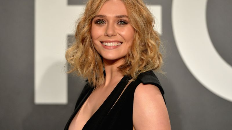 Elizabeth Olsen, 5k, photo (horizontal)