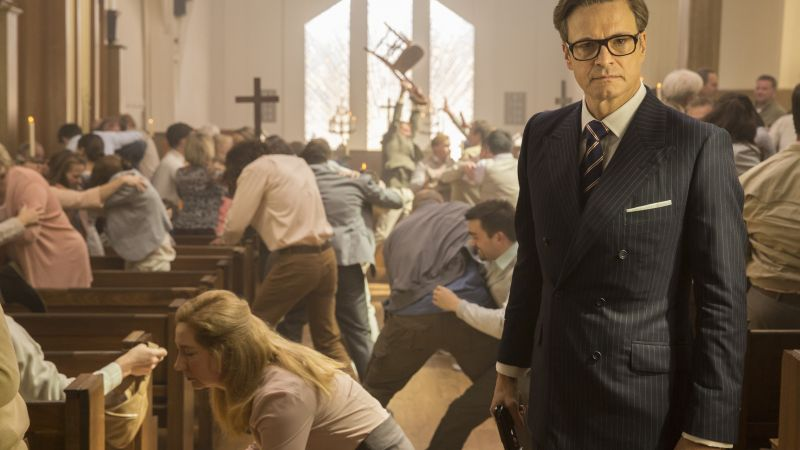 Kingsman: The Golden Circle, Colin Firth, 5k (horizontal)