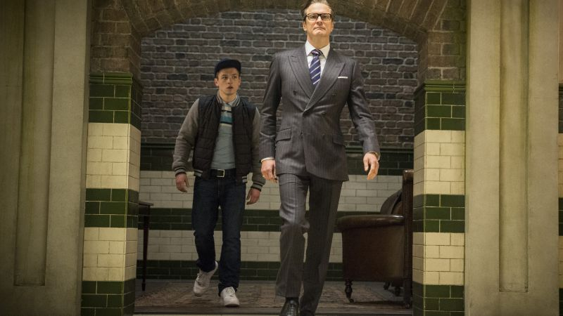 Kingsman: The Golden Circle, Colin Firth, Taron Egerton, 5k (horizontal)