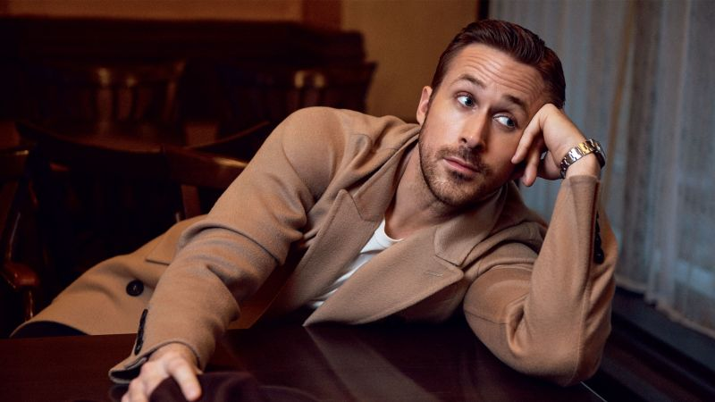 Ryan Gosling, 5k, photo (horizontal)