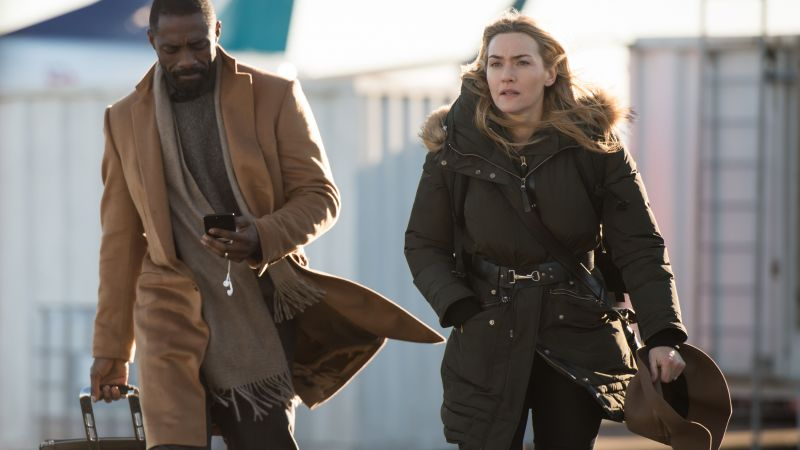 The Mountain Between Us, Idris Elba, Kate Winslet, 4k (horizontal)