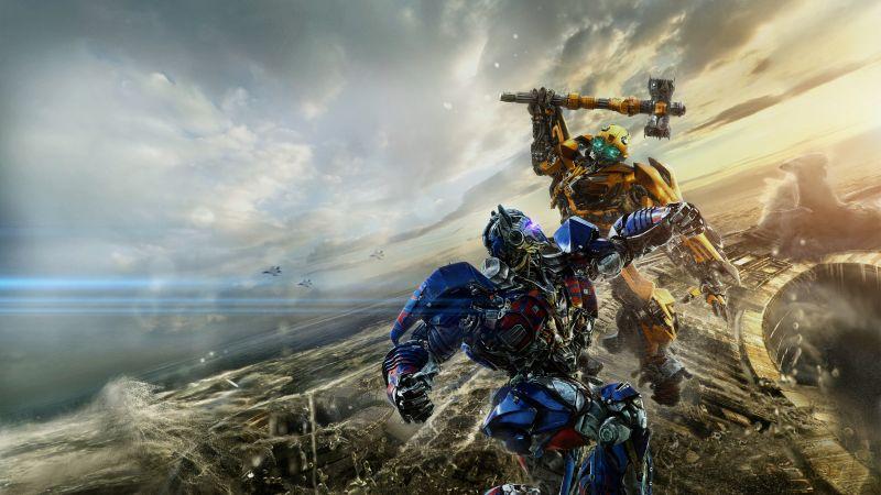 Transformers: The Last Knight, Transformers 5, 5k (horizontal)