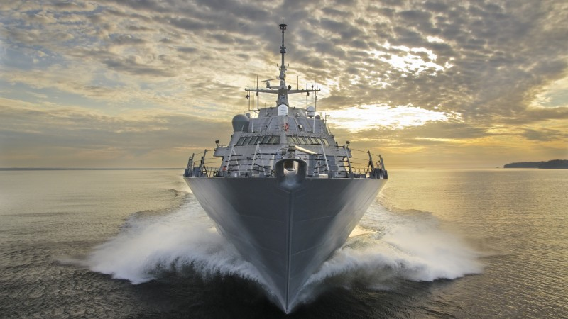 USS LCS-3, USS, LCS-3, Fort Worth, littoral, Freedom-class, combat ship, U.S. Navy, USA Army, sea (horizontal)