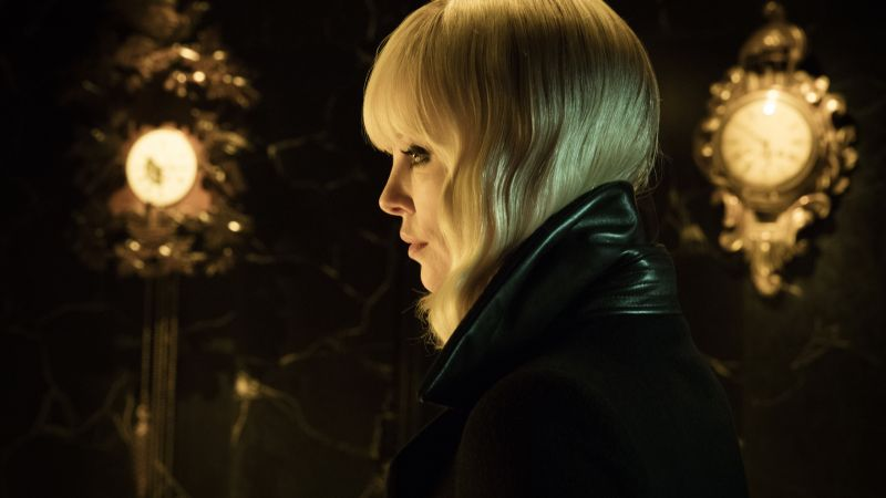 Atomic Blonde, Charlize Theron, 5k (horizontal)