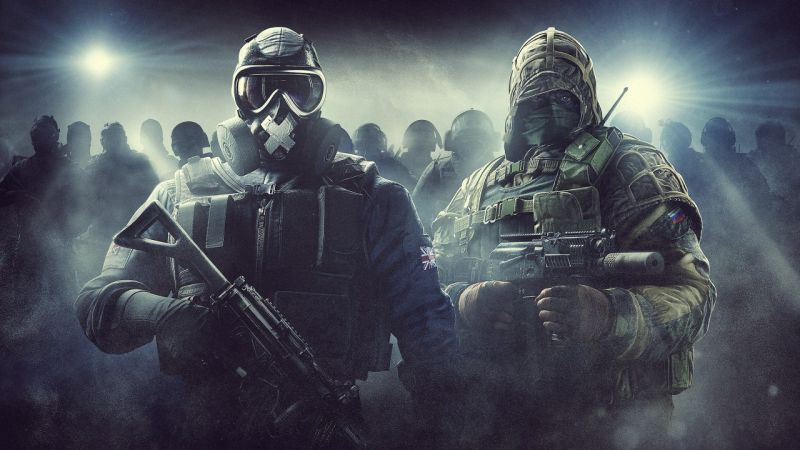 Mute, Kapkan, Rainbow Six Siege, Tom Clancy's, 4K (horizontal)