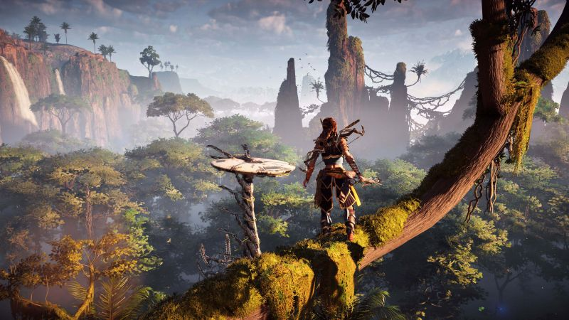 Horizon Zero Dawn, E3 2016, action role-playing (horizontal)