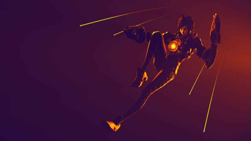 Tracer, Overwatch, 4K (horizontal)