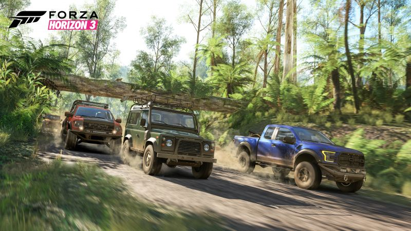 Forza Horizon 3, racing, extreme, E3 2016 (horizontal)