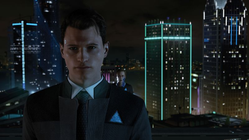 Detroit: Become Human, 8k, E3 2017, screenshot (horizontal)