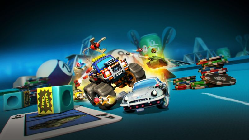 Micro Machines World Series, 5k, screenshot (horizontal)