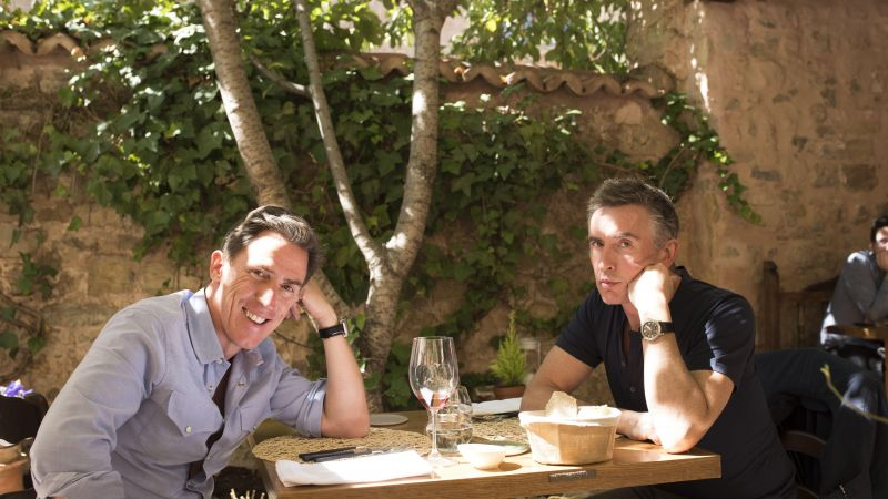The Trip to Spain, Steve Coogan, Rob Brydon, 4k (horizontal)