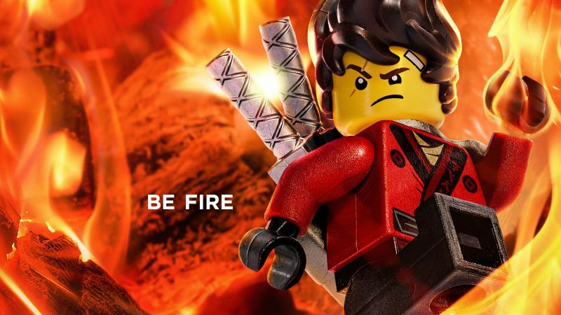 The LEGO Ninjago Movie, Be Fire, 4k (horizontal)