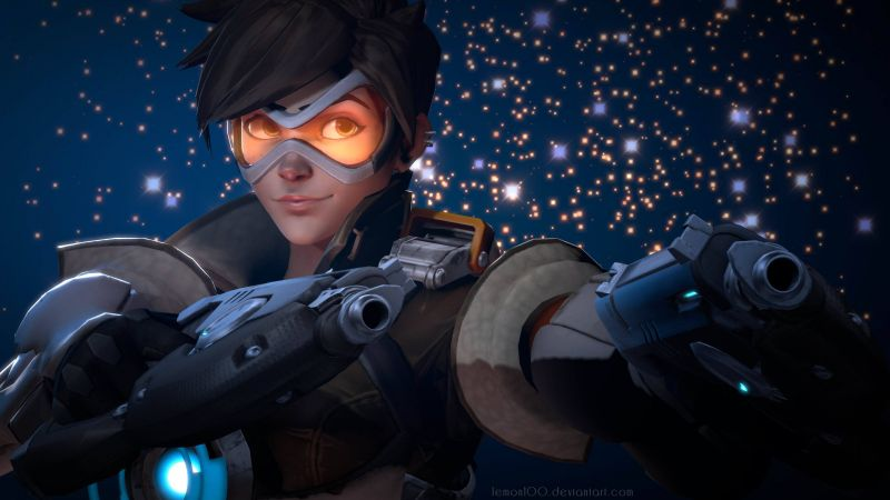 Overwatch, Tracer, 4k (horizontal)