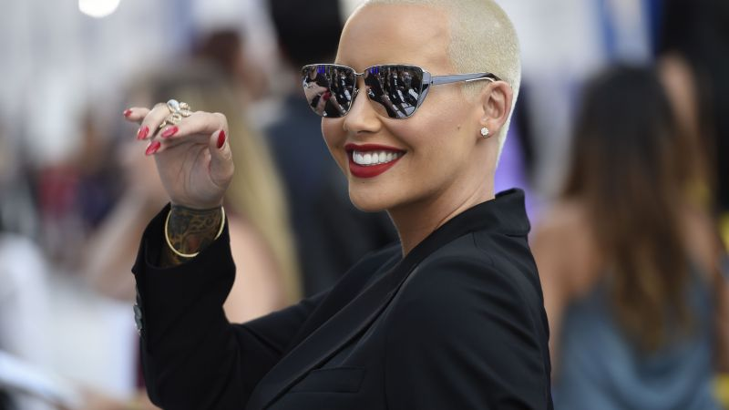 Amber Rose, beauty, 4k (horizontal)