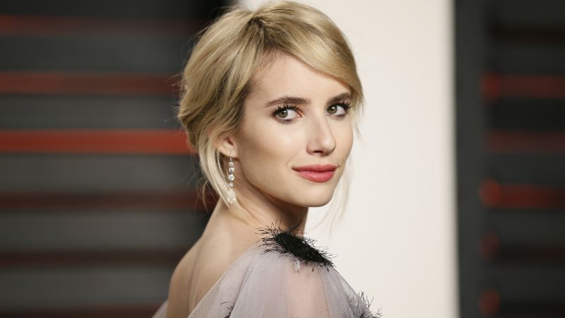 Emma Roberts, photo, 4k (horizontal)