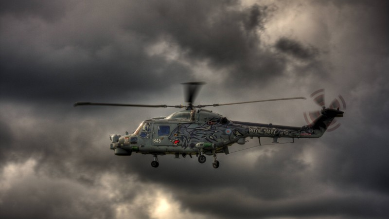 AW139, AgustaWestland, Westland, helicopter, Wild Cat, Royal Navy, flight, sky, clouds (horizontal)