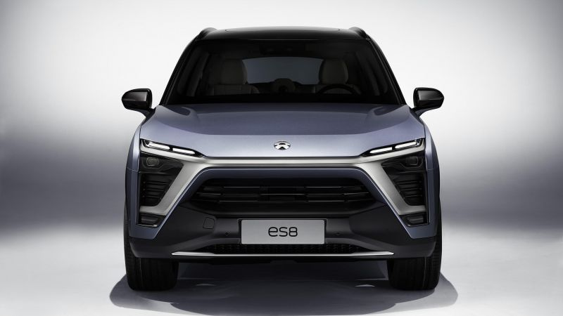 NextEV, NIO ES8 SUV, electric cars, 2018 Cars, 4k (horizontal)