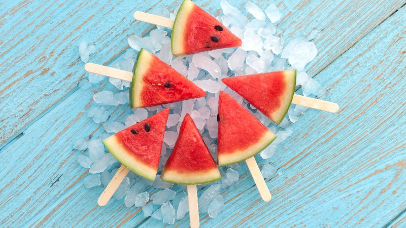 watermelon, ice, delicious, 5k (horizontal)