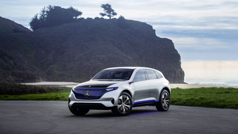 Mercedes Generation EQ, electric cars, 4k (horizontal)