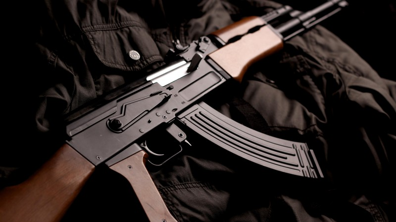 AK-74, Kalashnikov, AK-47, assault rifle, Russia, USSR, modern, weapon (horizontal)