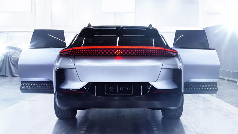 Faraday Future, FF91, electric cars, 4k (horizontal)