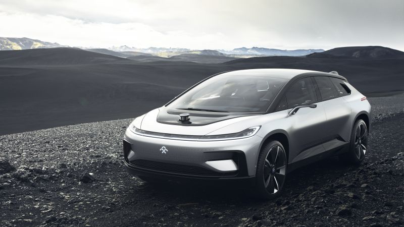 Faraday Future, FF91, electric cars, 5k (horizontal)