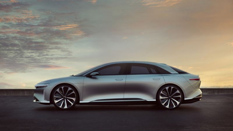 Lucid Air, electric cars, 4k (horizontal)