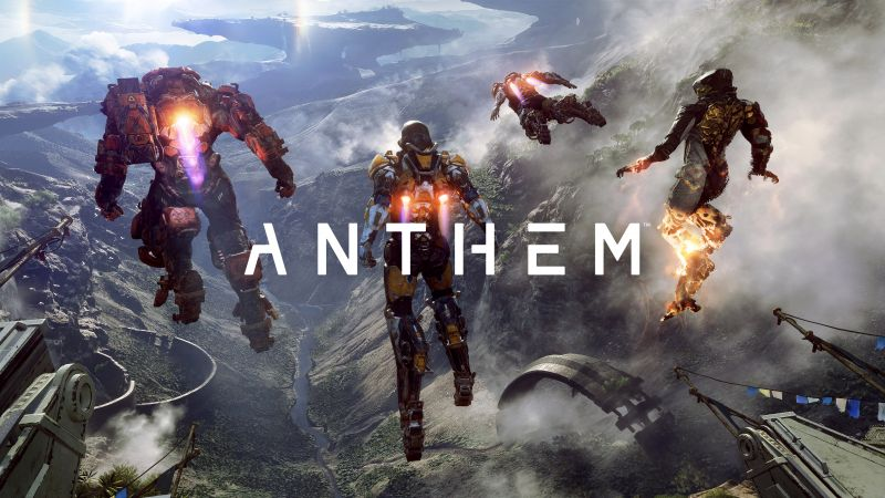 Anthem, 4k, poster, E3 2017 (horizontal)