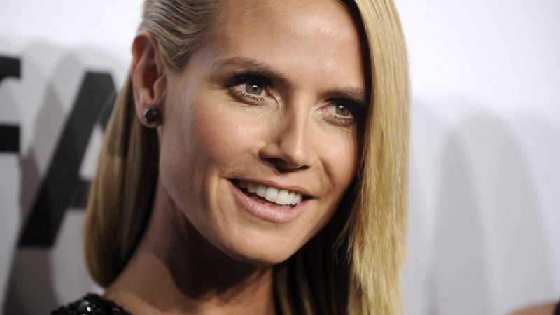 Heidi Klum, beauty, 4k (horizontal)