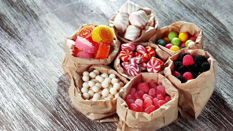 candy, marmellou, jellies, blackberries, delicious, 5k (horizontal)