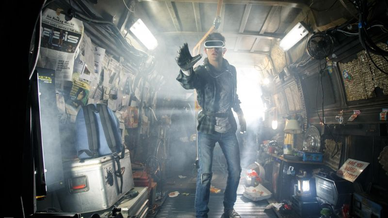 Ready Player One, Tye Sheridan, 5k, VR (horizontal)