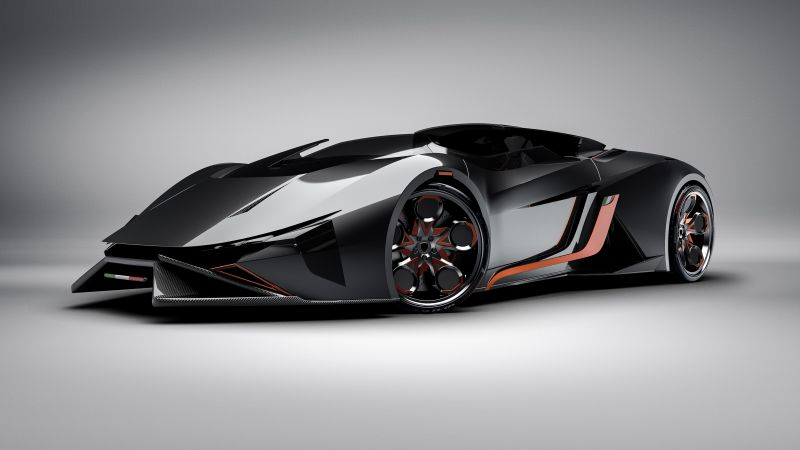 Lamborghini Diamante, Electric cars, Concept, 4k, 3D (horizontal)