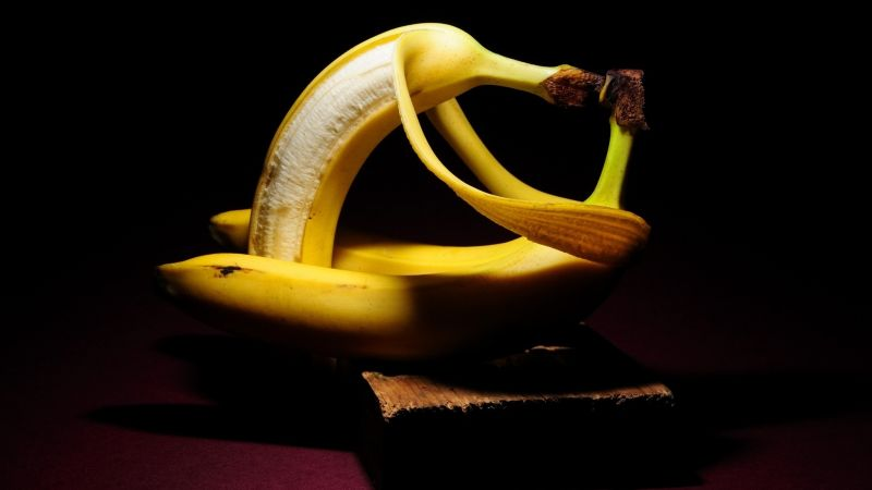 love image, bananas, HD (horizontal)