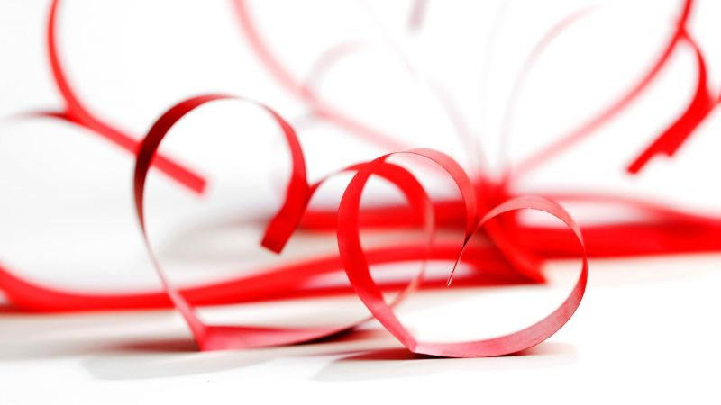 love image, heart, HD (horizontal)