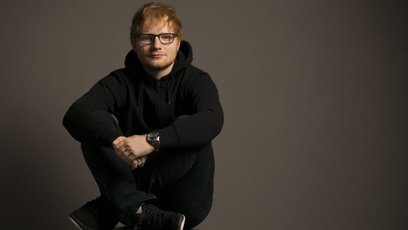 Ed Sheeran, photo, 4k (horizontal)