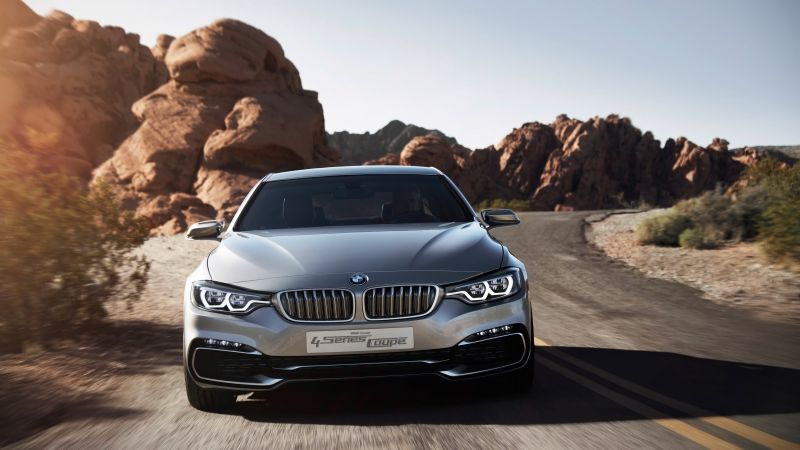 BMW 4, Series Coupe, 2018 Cars, 4k (horizontal)