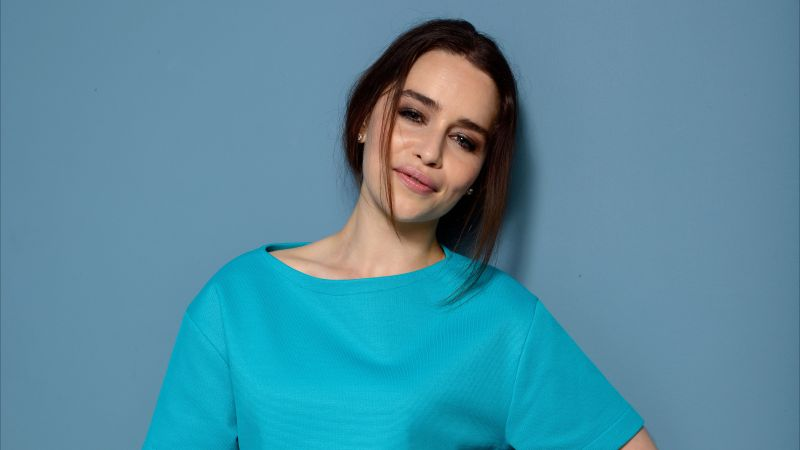 Emilia Clarke, photo, 4k (horizontal)