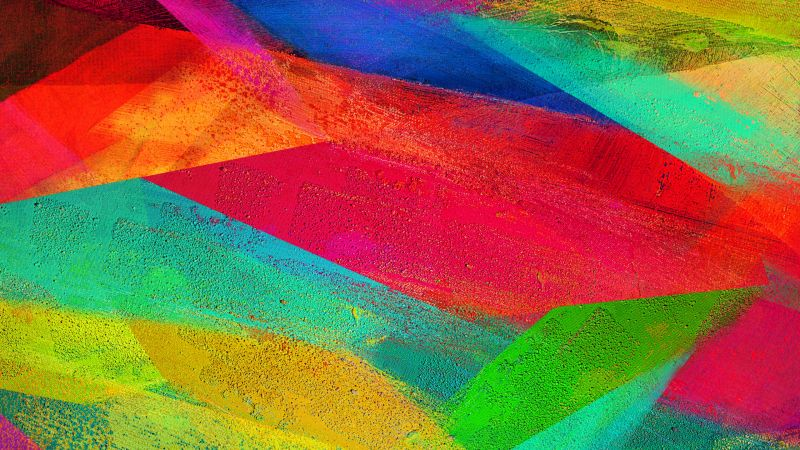 colorful, abstract, 4k (horizontal)