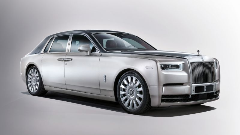 Rolls-Royce Phantom, cars 2017, 4k (horizontal)